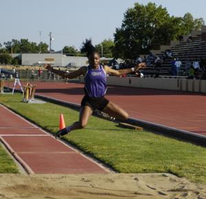 Tokay's Jannell Hadnot bounds into her first state meet in the triple jump