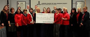 Junior League of San Joaquin donates funds and supplies to Lodi Unified School District