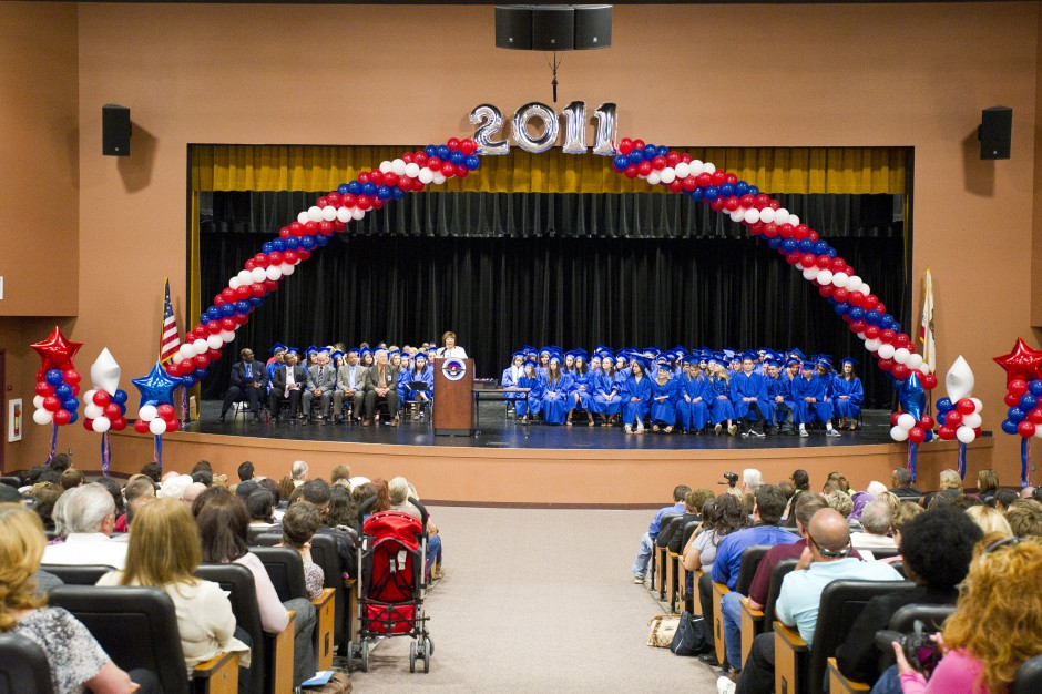 Independence High School graduation