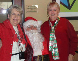 Soroptimists host Christmas party for Hope Harbor women's group