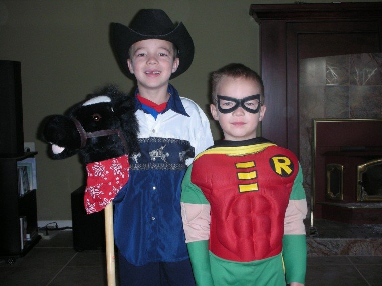 Cowboy and Robin, together we believe