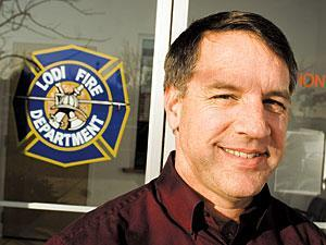 After 29 years of service, Lodi Fire Marshal Verne Person retires