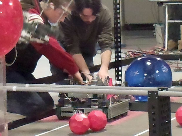 Galt High School robotics team heads for state championship
