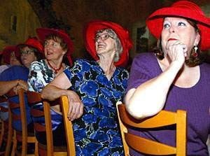 Red Hat Society: New Lodi chapter puts 'fun in dysfunctional'