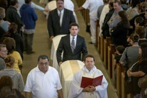 Hundreds pay final respects at Miranda funeral