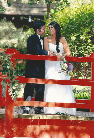 Michael Andrade and Jillian Hogg married in May at Micke Grove