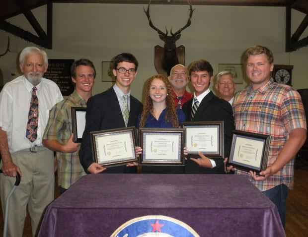 Elks hold scholarship luncheon