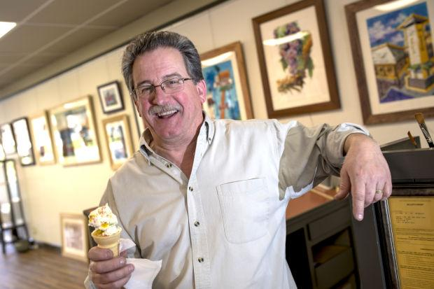 Tony Segale, Lodi's best-known sign painter, opens Downtown art gallery