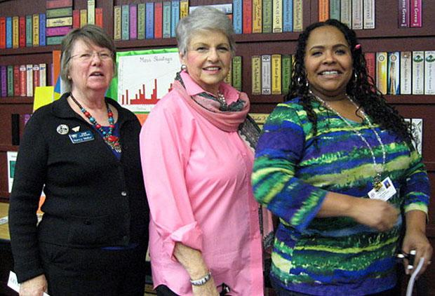Lodi American Association of University Women members tour library, learn about programs