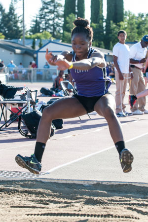 Track and field: Tokay's Jannell Hadnot hits triple trifecta at Sac-Joaquin Section Masters