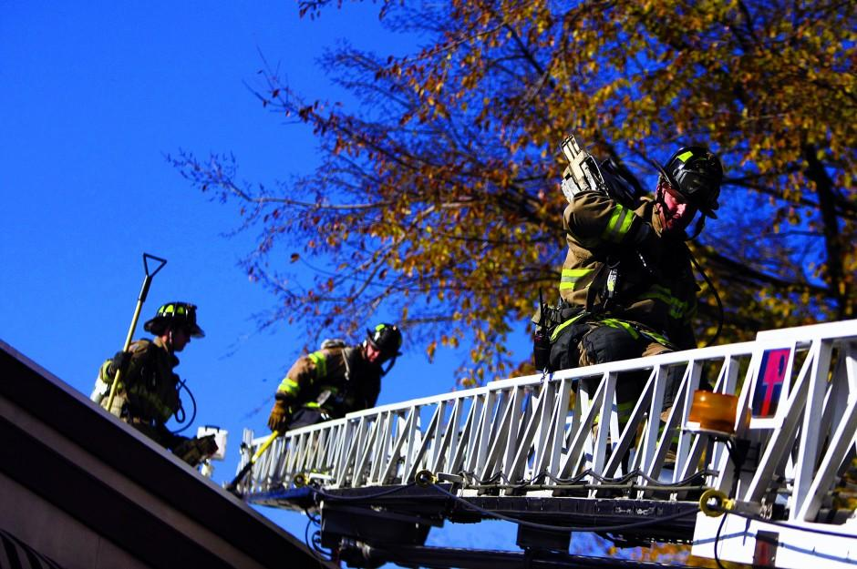 Lodi firefighters train for rooftop rescues