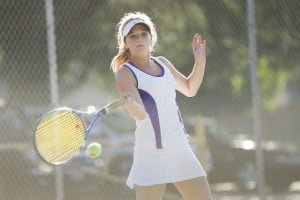 Tokay sweeps Edison in girls tennis