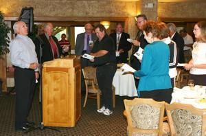 Prokop discusses faith, fellowship at prayer breakfast