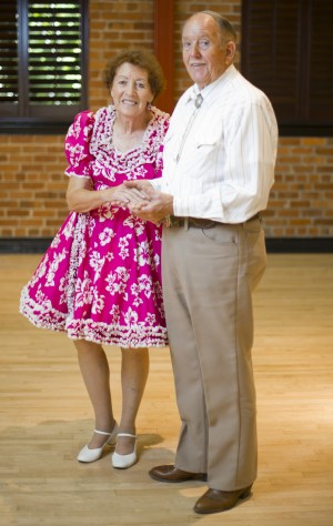 Caller Joe Vallery explains art of square dancing