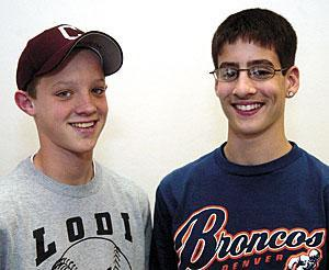Talented duo are friends, champs and future foes