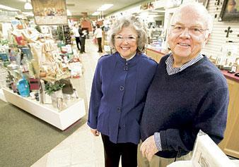 Phil and Bonnie Biddle retire from Christian bookstore Vine and Branches