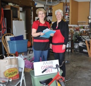 American Association of University Women to hold garage sale fundraiser