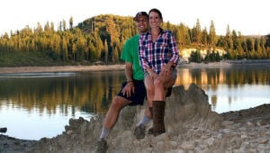 Zachary Mertz, Mallory Groppe engaged last September at Icehouse Reservoir