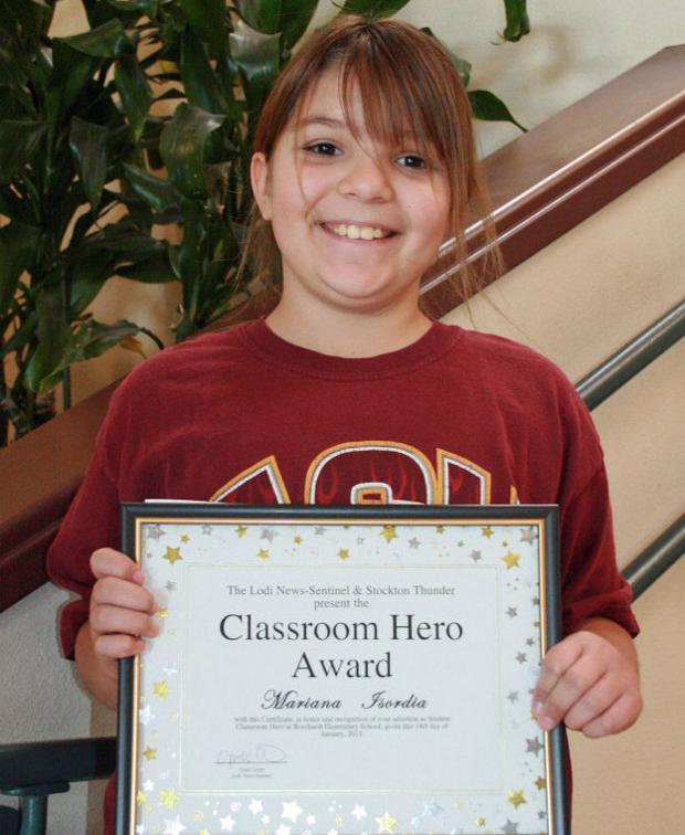 Borchardt Elementary School names Classroom Heroes