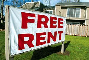 Hot real estate cools local apartment market