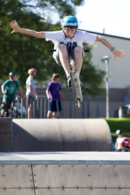 Lodi residents glad to be back as skate park reopens — with a warning