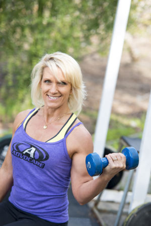 Morada mom Nicole McBride offers fitness coaching at her home