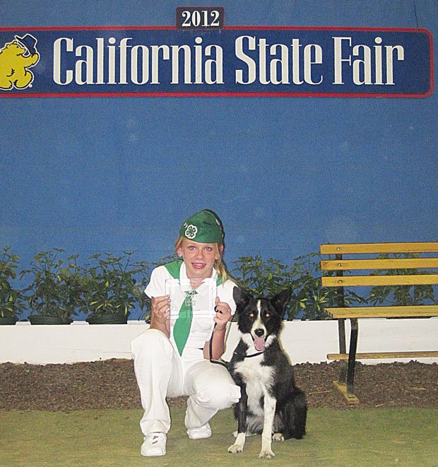 Linden-Peters 4-H club member wins a 1st and 2nd at state fair dog trials