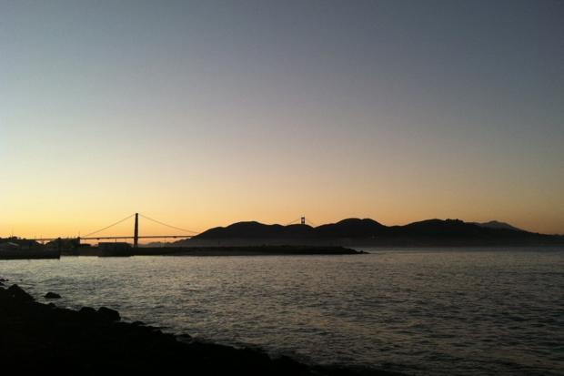 Have a picnic overlooking the bay at Crissy Field