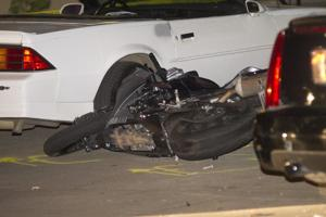 Man flown to Sacramento hospital after motorcycle accident