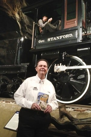 After childood of loving trains, Lodi native Ralph Orlandella writes a book on railways