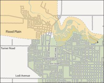 New federal map may spare some Lodians hundreds or thousands in flood insurance