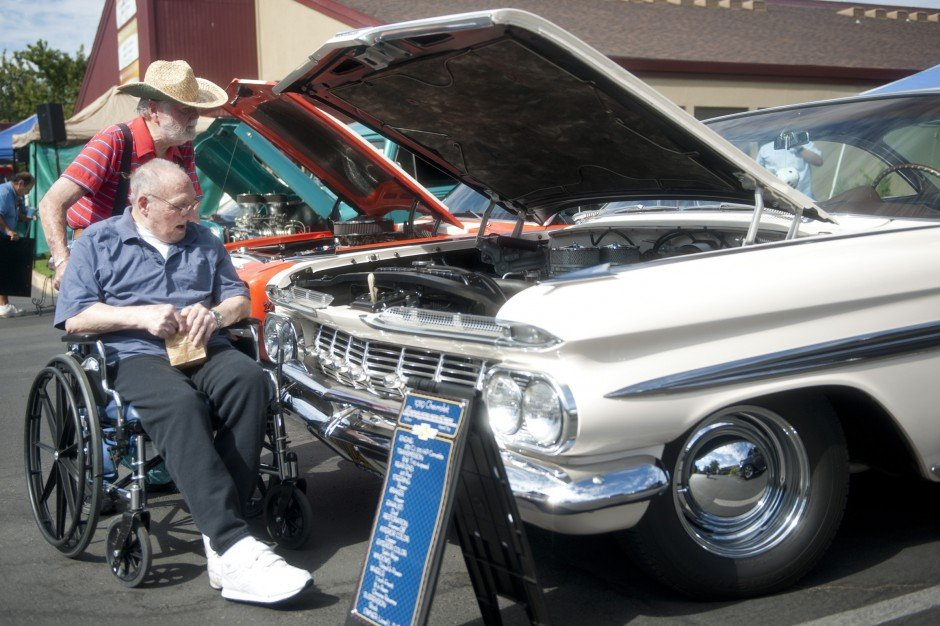 Arbor Convalescent Hospital's 12th annual car show