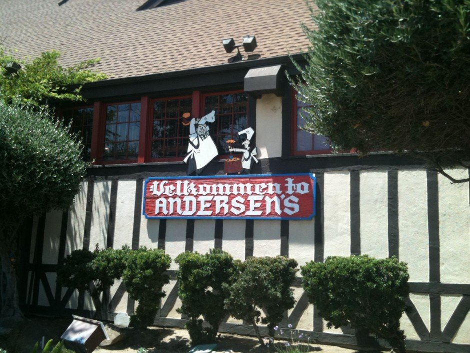 Stop for a bite at Andersen's Pea Soup in Santa Nella