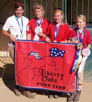 Liberty Oaks Pony Club earns awards at rally