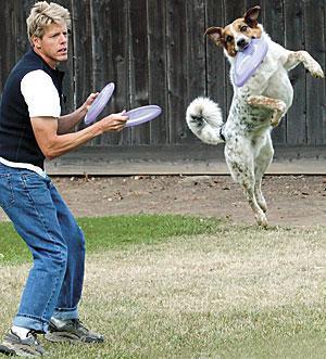Lodi man and his dog win world Frisbee championship