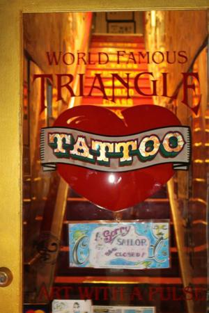 Browse a variety of unique tattoos at the Triangle Tattoo and Museum