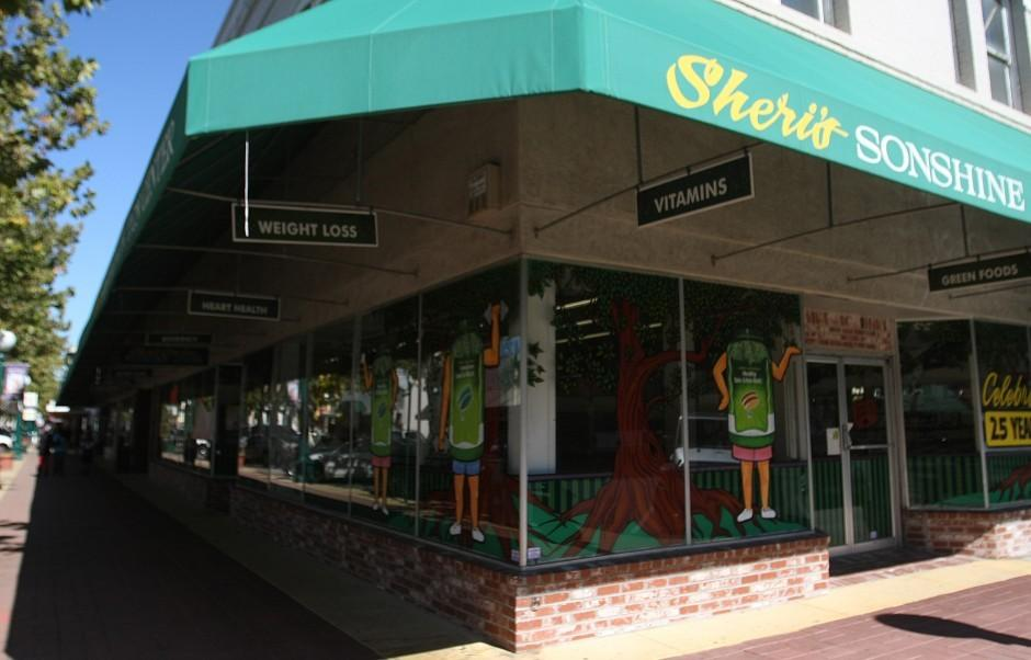 Business healthy at Sheri's Sonshine Nutrition Center in Downtown Lodi