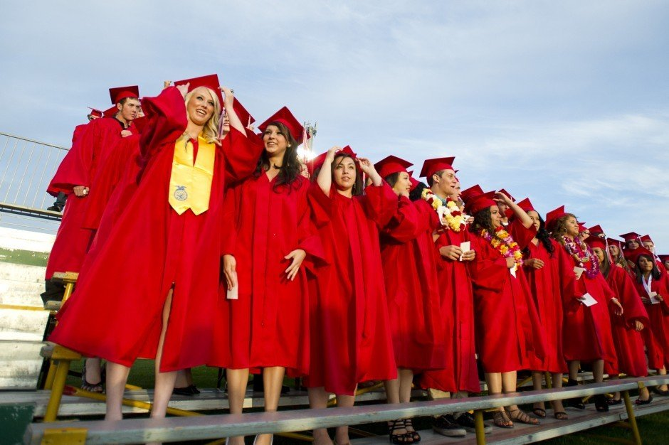 Galt High School graduates look toward the future