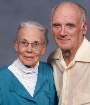 Jane and Fred Erickson celebrated 70th anniversary last month