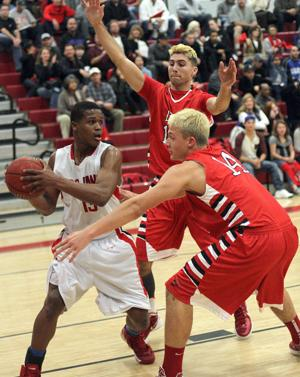 Boys basketball: Flames have a fight