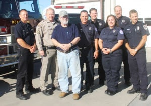 Emergency medical service workers honored for saving Lodi man's life after heart attack