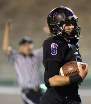 Football: Inspired Tigers honor a sick teammate in win over Eagles