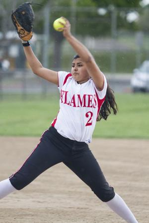Softball: Flames rout Yellowjackets