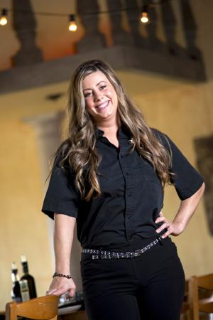 Banquet Manager Sarah Gruber delights in making special events run smoothly