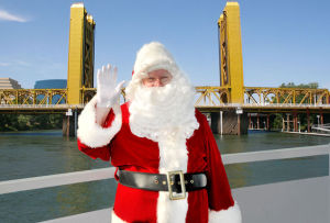 Spend one-on-one time with Santa on the Sacramento Santa Holiday River Cruise