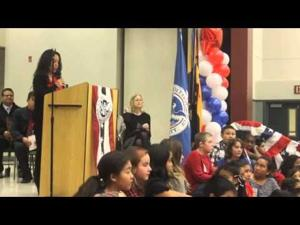 Video: Lodi Unified School District teacher Saveth Bou becomes U.S. citizen in front of students