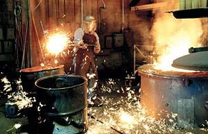 Lodi foundry survives on grit, tradition