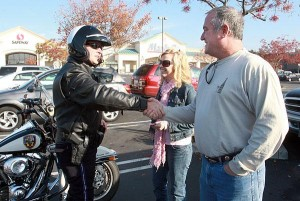Lodi Police hand out tickets and … turkeys?