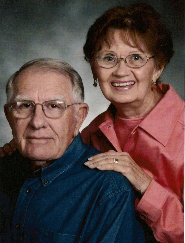 Gordon and Yvonne Aman celebrate 60 years of marriage