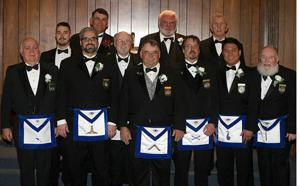Woodbridge Masonic Lodge installs officers